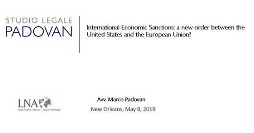 LNA global meeting Marco Padovan1