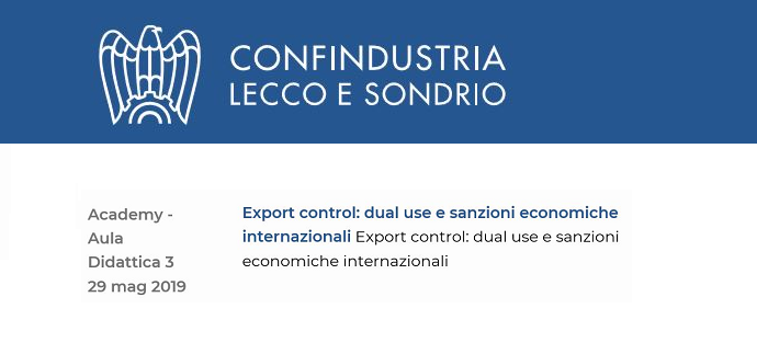 export lecco